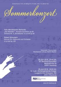 Sommerkonzert 2016